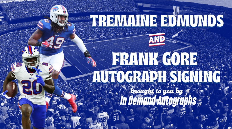 online store 9c934 37c17 Edmunds & Gore Autograph Signing - Dave and Adam's Store